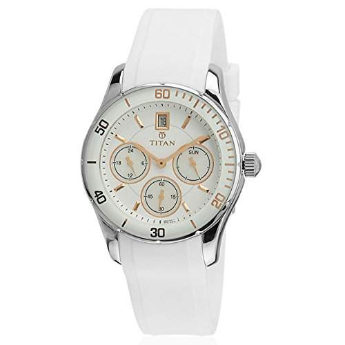 Titan Damen Analog Casual Quartz Reloj 9958SP02