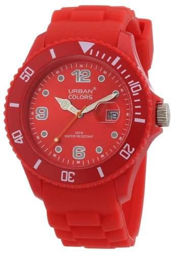 Urban Colors Unisex-Armbanduhr Classic Analog Silikon 36029011