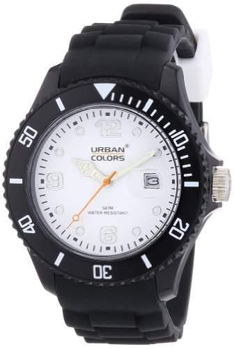 Urban Colors Unisex-Armbanduhr Classic Analog Silikon 36029053