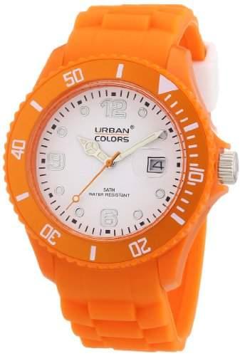 Urban Colors Unisex-Armbanduhr Classic Analog Silikon 36029061