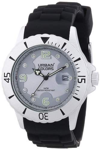 Urban Colors Unisex-Armbanduhr Alu Jewel Analog Silikon 36029571
