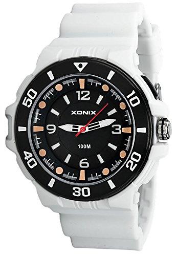 12 Ziffernblatt XONIX Armbanduhr fuer Herren und Teenager nickelfrei WR100m Licht XDGN11U 1