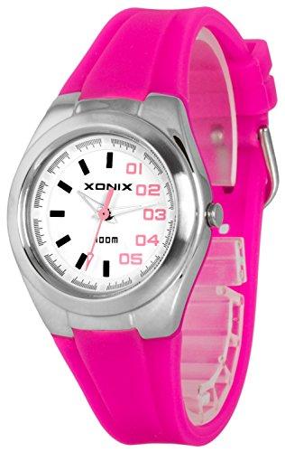 Analoge Armbanduhren XONIX fuer Damen und Maedchen nickelfrei WR100m XAYP 3