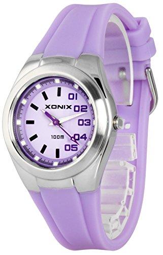 Analoge Armbanduhren XONIX fuer Damen und Maedchen nickelfrei WR100m XAYP 2