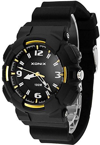 Analoge XONIX Armbanduhr fuer Damen und Kinder Licht WR100m nickelfrei XAAO 3