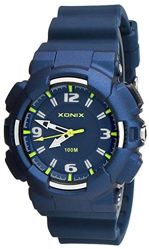 Analoge XONIX Armbanduhr fuer Damen und Kinder Licht WR100m nickelfrei XAAO 4
