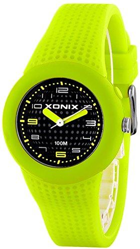 Kleine analoge XONIX Armbanduhr fuer Damen und Maedchen mit Licht WR100m XRKP43HE 2