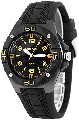 Grosse analoge XONIX Armbanduhr fuer Herren mit Licht wasserdicht bis100m XADM77A 2