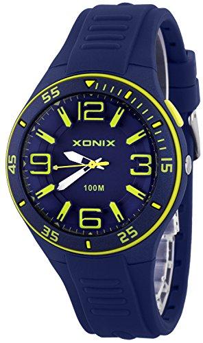 Analoge XONIX Herrenarmbanduhr wasserdichte bis 100m mit Hintergrundlicht XAR76Q 3