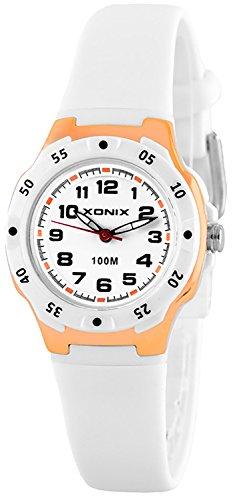 Kleine analoge XONIX Kinderarmbanduhr wasserdicht bis 100m nickelfrei XP81LB 6
