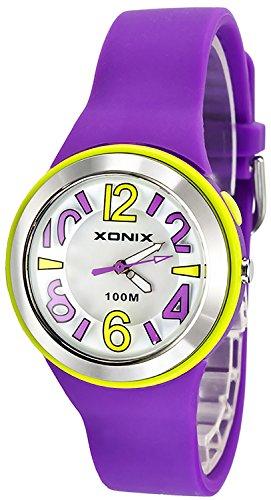 Analoge XONIX Damen und mit Licht WR100m nickelfrei XAAP 4