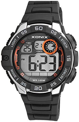 Armbanduhr XONIX fuer Herren und Jungen WR100m mit vielen Funktionen XDJ03X 4