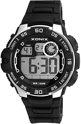 Armbanduhr XONIX fuer Herren und Jungen WR100m mit vielen Funktionen XDJ03X 2