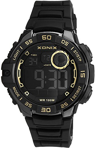 Armbanduhr XONIX fuer Herren und Jungen WR100m mit vielen Funktionen XDJ03X 3
