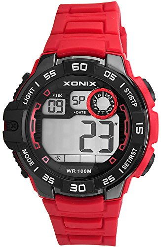 Armbanduhr XONIX fuer Herren und Jungen WR100m mit vielen Funktionen XDJ03X 5