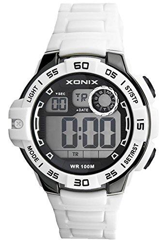 Armbanduhr XONIX fuer Herren und Jungen WR100m mit vielen Funktionen XDJ03X 1