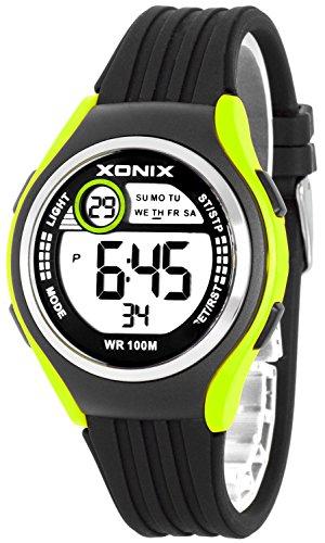 Armbanduhr XONIX Unisex Stoppuhr Alarm Datum wasserdicht bis 100m XDHJ88 5