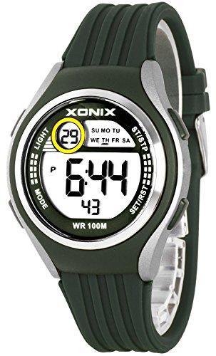 Armbanduhr XONIX Unisex Stoppuhr Alarm Datum wasserdicht bis 100m XDHJ88 1
