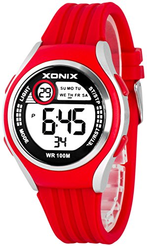 Armbanduhr XONIX Unisex Stoppuhr Alarm Datum wasserdicht bis 100m XDHJ88 2