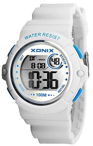 Armbanduhr XONIX wasserdicht bis 100m Timer Stoppuhr Alarm fuer Damen und Teenager XDK11T 6