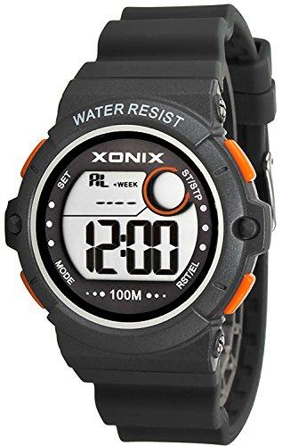 Armbanduhr XONIX wasserdicht bis 100m Timer Stoppuhr Alarm fuer Damen und Teenager XDK11T 7