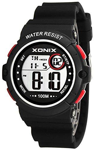 Armbanduhr XONIX wasserdicht bis 100m Timer Stoppuhr Alarm fuer Damen und Teenager XDK11T 2