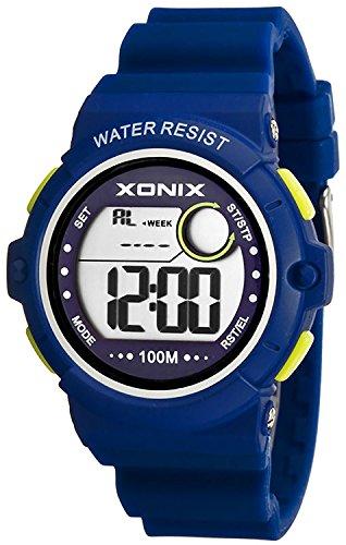 Armbanduhr XONIX wasserdicht bis 100m Timer Stoppuhr Alarm fuer Damen und Teenager XDK11T 4