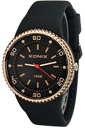Damenarmbanduhr XONIX mit 12 Stunden Ziffenblatt nickelfrei WR100 XAJ13Z 2