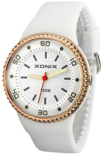 Damenarmbanduhr XONIX mit 12 Stunden Ziffenblatt nickelfrei WR100 XAJ13Z 1