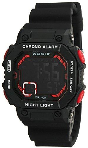 Digitale XONIX Armbanduhr fuer Damen Kinder mit Timer Alarm Stoppuhr wasserdicht 100m XF97GM 1