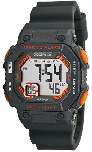 Digitale XONIX Armbanduhr fuer Damen Kinder mit Timer Alarm Stoppuhr wasserdicht 100m XF97GM 5