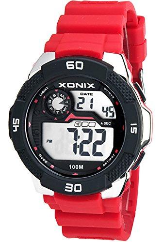 Grosse Herrenarmbanduhr XONIX mit Alarm Timer Stoppuhr Licht Datum wasserdicht bis 100m XDW98J 3