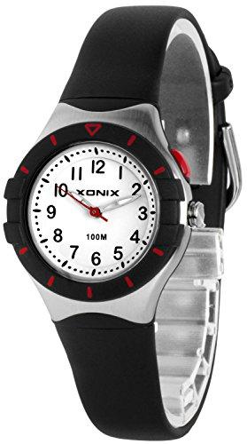 Klassische analoge XONIX Armbanduhr mit Licht nickelfrei wasserdicht bis100m XADZ854 4