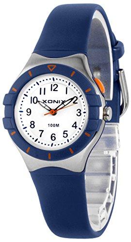 Klassische analoge XONIX Armbanduhr mit Licht nickelfrei wasserdicht bis100m XADZ854 3