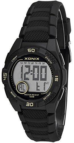 Leichte kleine Armbanduhr XONIX fuer Damen und Kinder wasserdicht bis 100m Alarm Timer Stoppuhr XDQ53K 1
