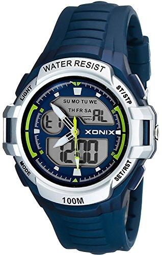 Multifunktions XONIX Armbanduhr fuer Herren und Teenager WR100m XMKM 5