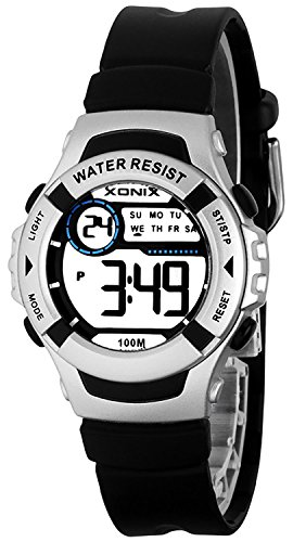 Multifunktions XONIX Armbanduhr fuer Damen und Kinder WR100m A49GU893H3 4