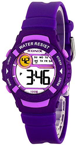 Multifunktions XONIX Armbanduhr fuer Damen und Kinder WR100m A49GU893H3 3