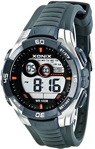 Sportliche Multifunktions XONIX Armbanduhr fuer Herren und Teenager WR100m XKJA 1