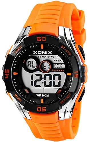 Sportliche Multifunktions XONIX Armbanduhr fuer Herren und Teenager WR100m XKJA 4