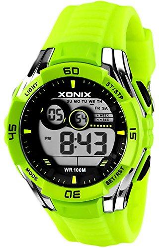 Sportliche Multifunktions XONIX Armbanduhr fuer Herren und Teenager WR100m XKJA 3