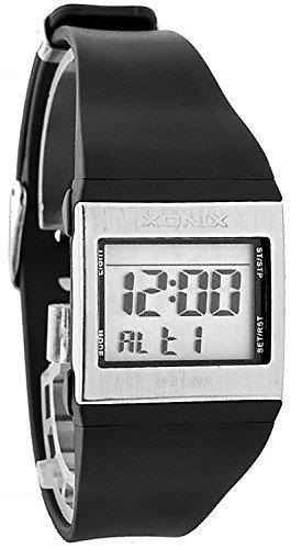 Sportliche Damen und Teenager XONIX Multifunktionsuhr Wr100m ZE1 2