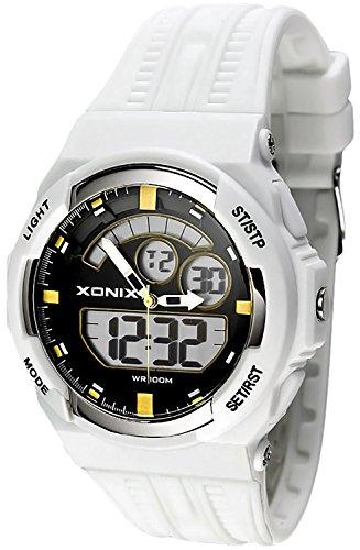 Sportliche XONIX Armbanduhr fuer Herren und Teenager WR100m XMCM 6