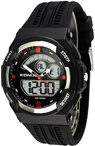 Sportliche XONIX Armbanduhr fuer Herren und Teenager WR100m XMCM 2