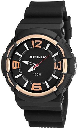 Sportliche Unisex XONIX Armbanduhr wasserfest bis 100m mit Hintergrundbeleuchtung XAZ89Q 2
