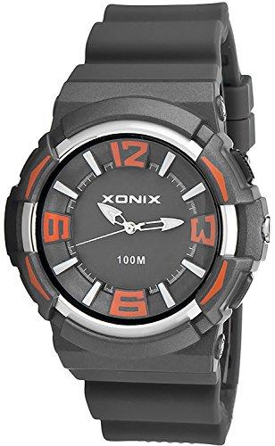 Sportliche Unisex XONIX Armbanduhr wasserfest bis 100m mit Hintergrundbeleuchtung XAZ89Q 3
