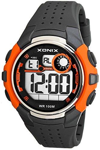Sportliche XONIX Armbanduhr Herren wasserfest bis 100m mit Alarm Timer Stoppuhr XDB31N 2