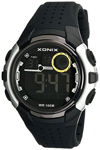 Sportliche XONIX Armbanduhr Herren wasserfest bis 100m mit Alarm Timer Stoppuhr XDB31N 4