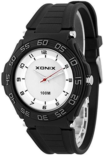 Sportliche analoge XONIX Herrenarmbanduhr wasserdicht bis 100m Licht nickelfrei X0GQ 6