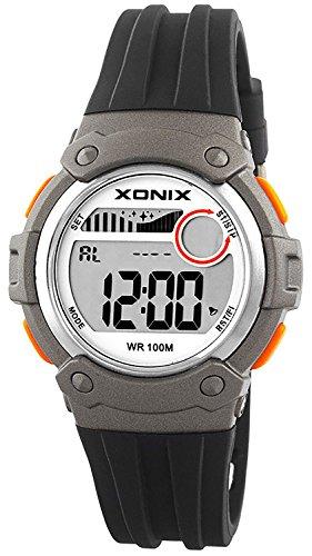 Unisex XONIX Armbanduhr Funktionen wie Alarm Stoppuhr Timer WR100m XHPK 7